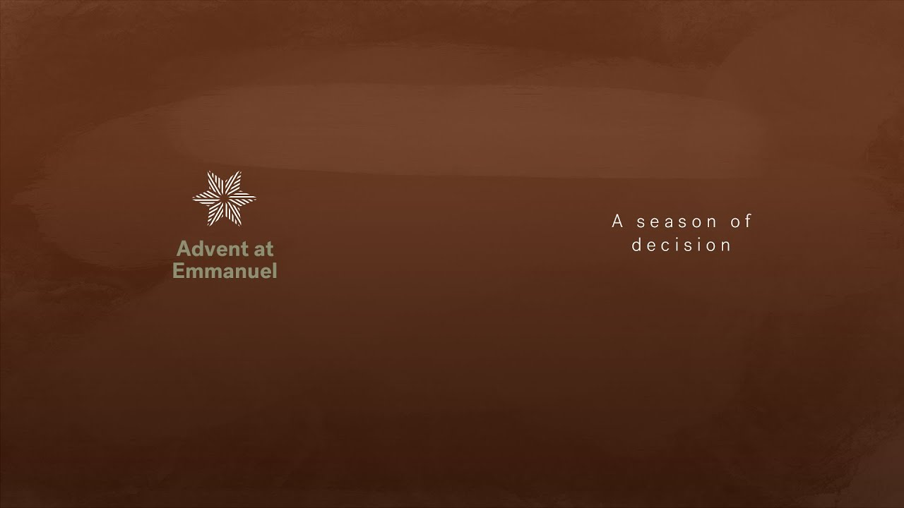 Advent: A season of decision Cover Image
