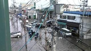 太平洋沖地震 津波の時の多賀城市町前の様子 thumbnail