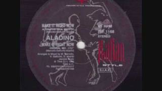 ALADINO - Make It Right Now (Original Mix) - 1993
