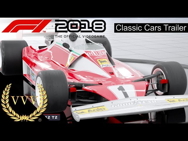 F1 2018 | Classic Car Reveal Trailer