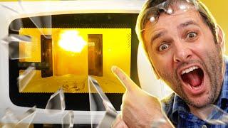 Fizemos PLASMA dentro do nosso MICRO-ONDAS!