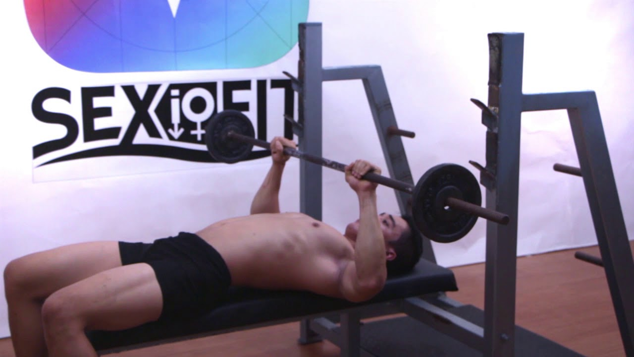 Guillotine Bench Press Part - 15: Barbell Guillotine Bench Press, Tutorial, Exercise Video, Workout, SEXioFIT