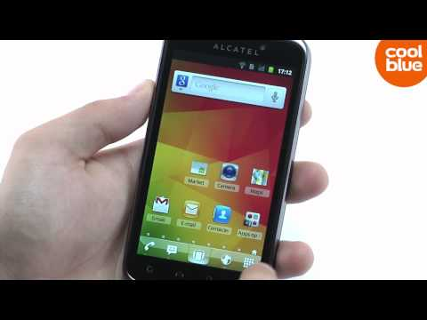 Alcatel One Touch 995 Black review en unboxing (NL/BE)