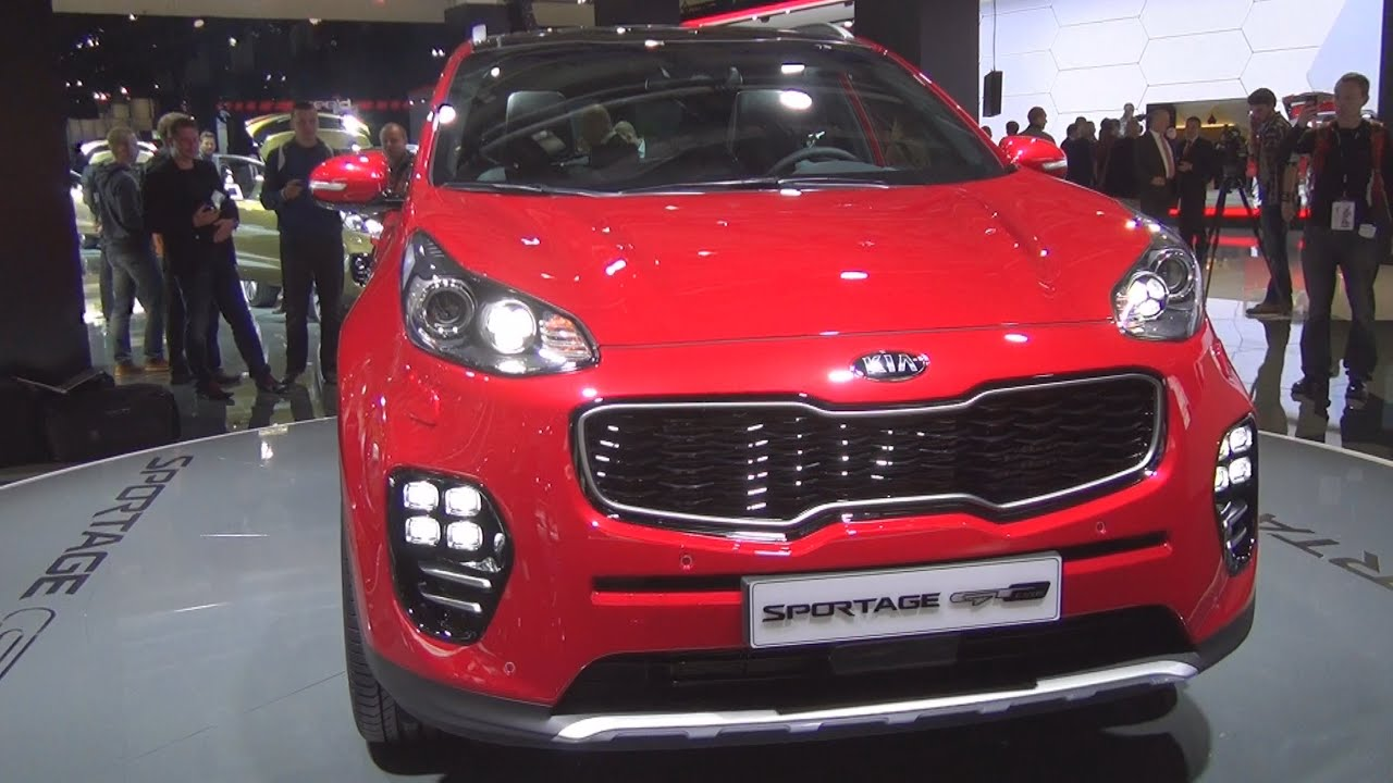 kia all new sportage 1 6 t gdi 130 kw dct awd gt line 2016 exterior and interior in 3d youtube. Black Bedroom Furniture Sets. Home Design Ideas