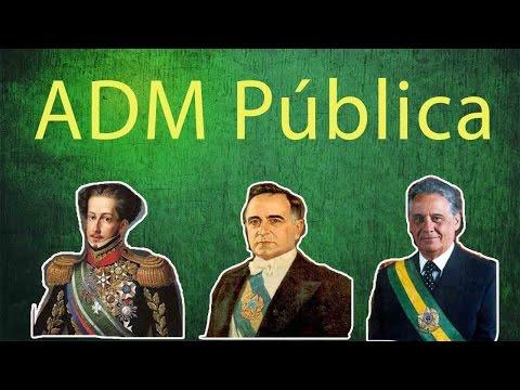 Administração Pública no Brasil - Patrimonialista, Burocrática e Gerencial