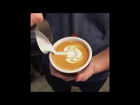 Cappuccino Latte Art Skills   Amazing Coffee Art   COFFEE ARTIST 9
