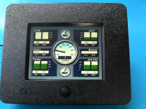 Marine and Automotive Digital Gauges - G24N by ChetcoDigital.com