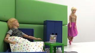 Игры с Барби. Ухаживаем за Кеном. Видео для девочек