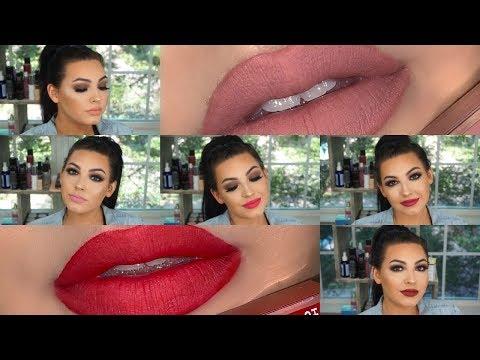 Hard Candy Matte-Aholic Lip Kit Lip Swatches