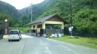 神津島 神津島村営バス 景色(側面展望)