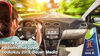 Neste K Kehä 3 - Radiomainos toukokuu 2019 (20sec Bauer media)