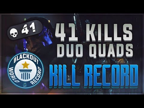CoD Blackout | 41 KILLS DUO QUADS PC KILL RECORD