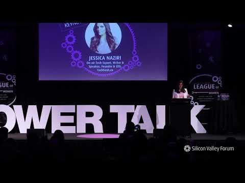 Women in Tech Festival 2018: Jessica Naziri, TechSesh.co
