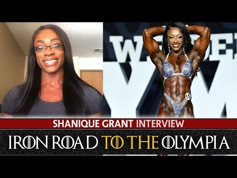 TEN OLYMPIA TITLES? Shanique Grant Interview