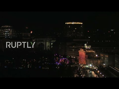LIVE: Fireworks light up Berlin skyline for New Year's Eve