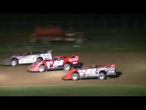 Super Late Model Feature | Dave Lundgren Memorial | McKean County Raceway | 6-14-14