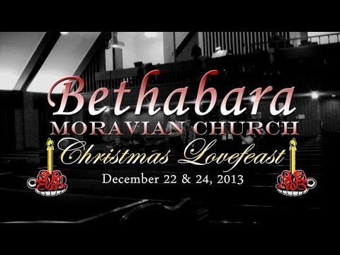 Bethabara Moravian Church Christmas Lovefeast - Winston Salem - North Carolina