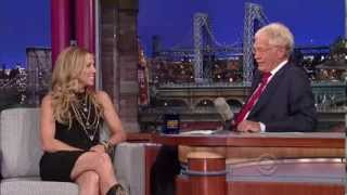 "Sheryl Crow on David Letterman - Interview + ""Easy"" (10 September 2013)"