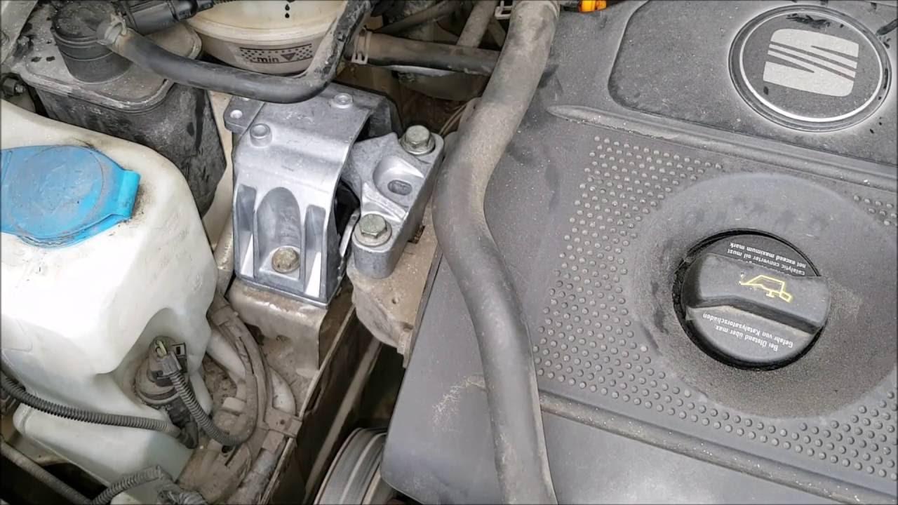Seat Toledo Ii 2001r 16 Wymiana Poduszki Silnika