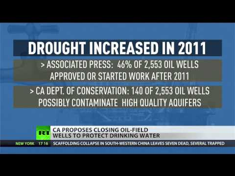 California wants to close fracking wells to protect drinking water during historic drought
