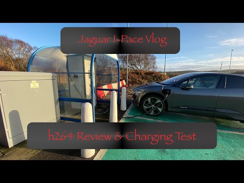Jaguar I-Pace Vlog - h264 Review and ChargePlace Scotland Charging Test