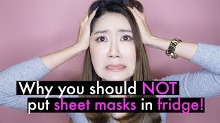 How To Store Sheet Masks Properly at Home! Korean Sheet Masks 101