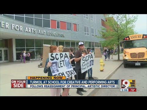 SCPA students protest artistic director's ouster