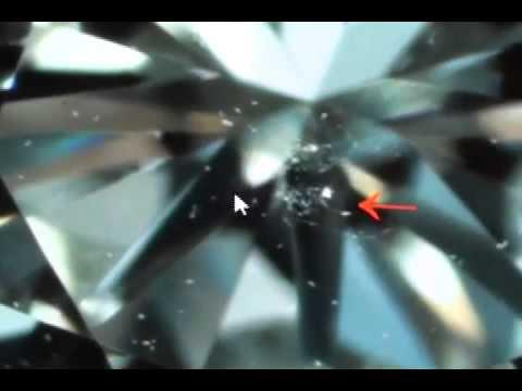 SpeckFinder Demonstration - Diamond Clarity Test