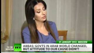 Palestinian Authority President Mahmoud Abbas Interview 23 Jan 2012