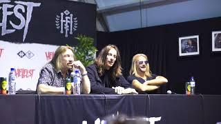 Judas Priest press conference @ Hellfest 2018