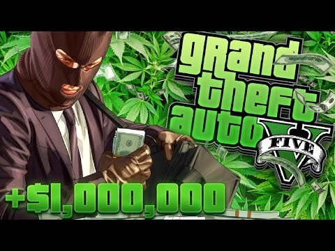1 MILLION DOLLARS! Full Marijuana & Cocaine Sale! GTA 5 Drug Business With Speedy!