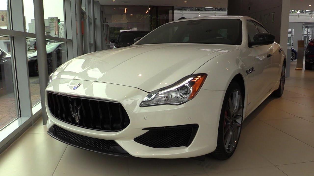 INSIDE the NEW Maserati Quattroporte 2017 Start Up, In Depth Review Interior Exterior 2018