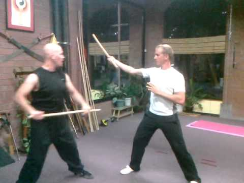 Kung Fu Stick Fighting Series, Lesson 1