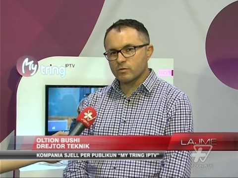 "Kompania Tring sjell ""My Tring IPTV"" - News, Lajme - Vizion Plus"