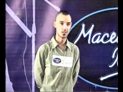 Macedonian Idol Jovan Hadzi Tasic