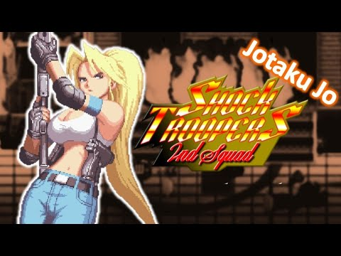 GIRL RAMBO - RETRO PLAY | SHOCK TROOPERS 2ND SQUAD |