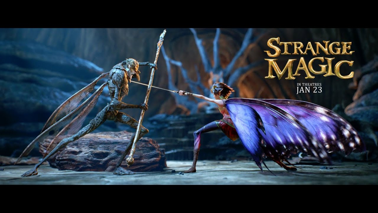 Download Strange Magic Official Trailer #1 2015   George Lucas Animated Movie HD   YouTube