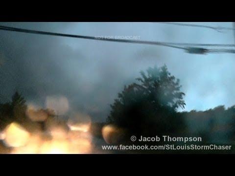 5/30/13 Broken Arrow, Oklahoma Tornado - Power Flashes