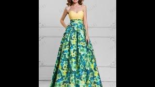 Вечернее платье Флорес TM PAULINE