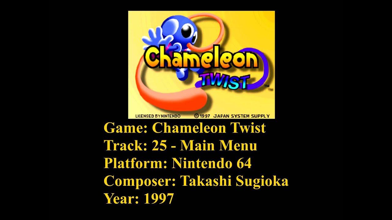 25 amazing chameleon pictures - Chameleon Twist Soundtrack Track 25 Main Menu