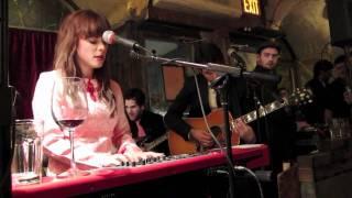 Heart Skips A Beat - Lenka Live in Vivo in Vino, NYC 2010