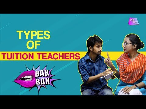 Types of Tuition Teachers | BakBak