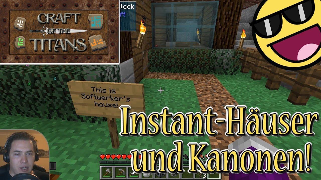 Sterbe Sterbe Häusle Baue Lets Play Minecraft Craft Of The - Hauser von minecraft