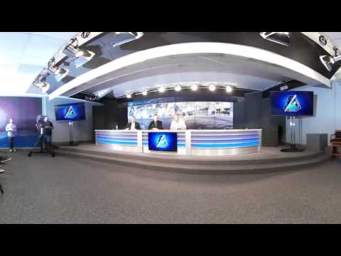 SpaceX SES 10 Post Launch News Conference with Elon Musk (360 VR 4k)