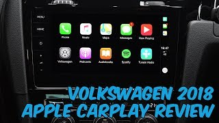 Volkswagen 2018 Apple CarPlay FULL Review - Discover Pro Navigation