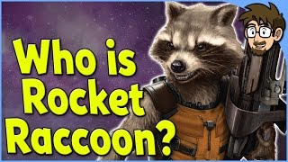 History of Rocket Raccoon! [Guardians of the Galaxy]