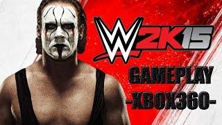 WWE 2K15   XBOX 360 Gameplay /HUN