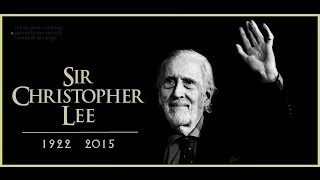 Goodbye, Sir Christopher Lee