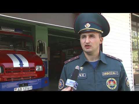 Житель Пинска погиб, выпав из окна  горящей квартиры