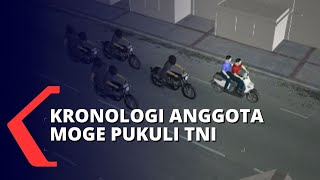 Kronologi Anggota Moge Harley yang Keroyok Prajurit TNI